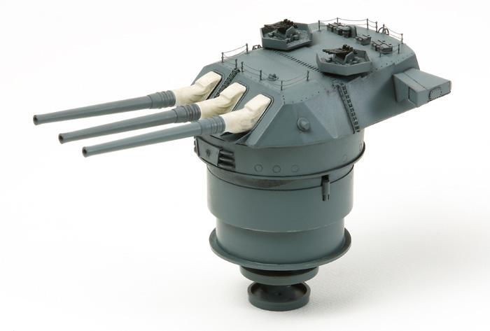 Fusion Hobbies Tamiya Metal 46cm Gun Barrels With