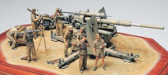 Fusion Hobbies Tamiya German 88mm Gun Flak 36 North