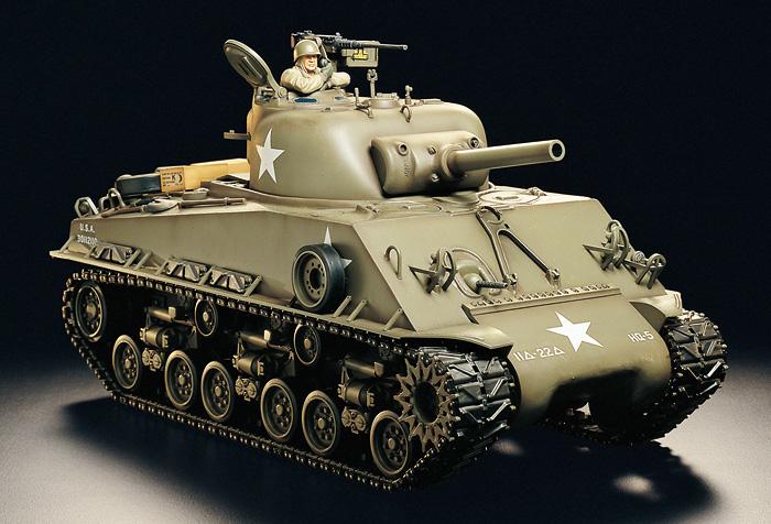 Fusion Hobbies Tamiya 1 16 M4 Sherman 56014 Radio