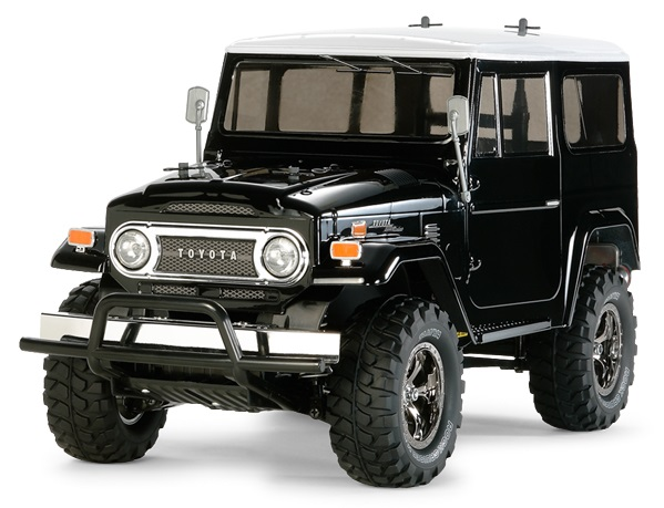 58564 Tamiya Toyota Land Cruiser 40 with Black Painted Body - CC-01