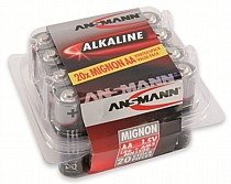 Ansmann Mignon Red Alkaline AA Batteries x20