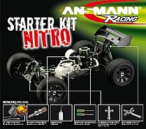 4850-0057 Ansmann Racing Nitro Starter Kit