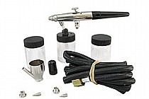 BA1757 Badger Model 175 Crescendo Dual Action Siphon Feed Airbrush Set
