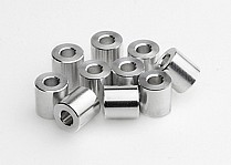 J80034 JunFac M3 Aluminium Spacer 7x7mm x10
