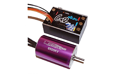 Mtroniks G2 Micro 1/18 Scale ESC with 8000kv Motor
