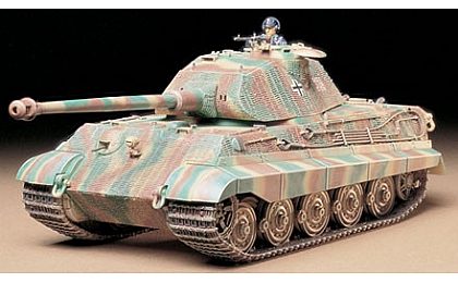 35169 Tamiya King Tiger Porsche Turret