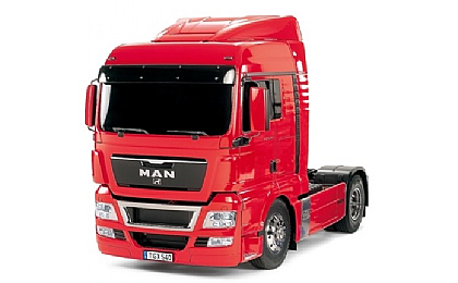 56332 Tamiya MAN TGX 18.540 4x2 XLX Red Edition