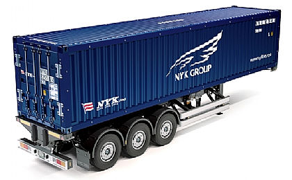 56330 Tamiya 40ft Container and Semi Trailer NYK