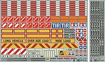 56534 Tamiya Tractor Truck Sticker Set