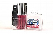 74023 Tamiya Builder's 8 Piece Screwdriver Set