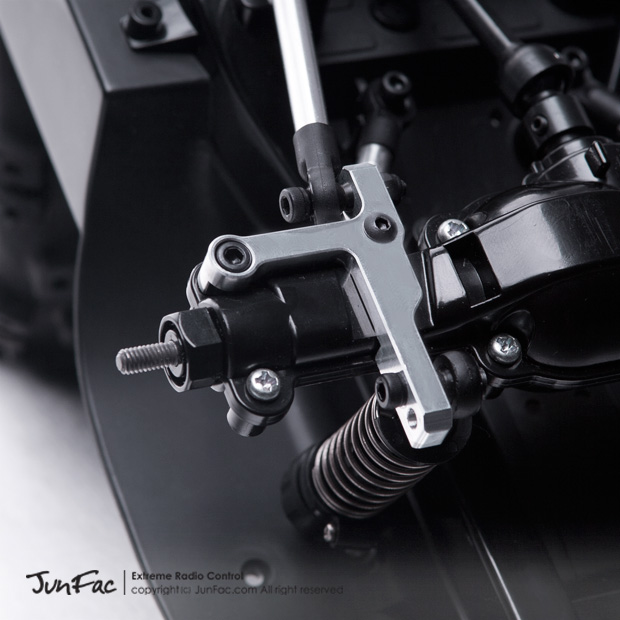 Fusion Hobbies - JunFac CC-01 4-Link Suspension Conversion with Skid Plate  - J100210