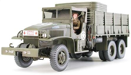 Fusion Hobbies Tamiya Us 2 1 2 Ton 6x6 Cargo Truck 35218