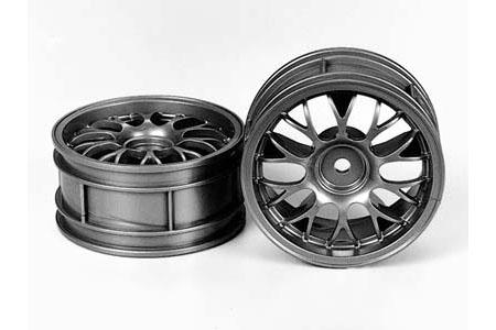 fusion hobbies tamiya porsche 911 gt1 front wheels x2. Black Bedroom Furniture Sets. Home Design Ideas