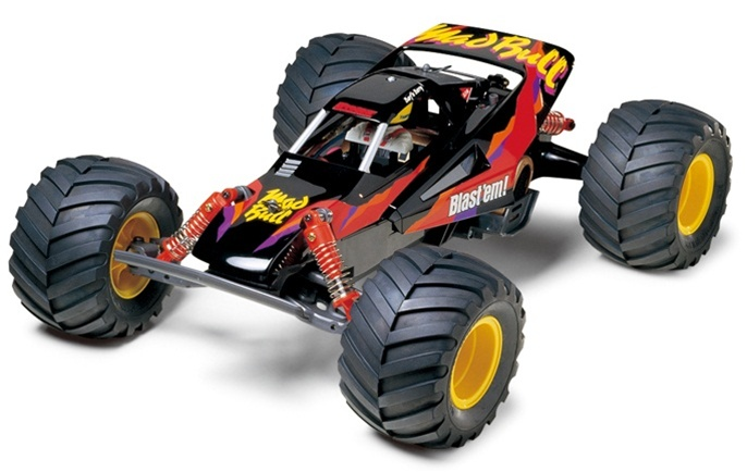 Fusion Hobbies Tamiya Mad Bull 58205 Radio Control Rc