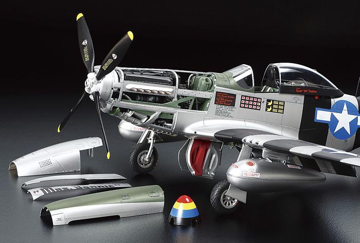 Fusion Hobbies Tamiya North American P 51d K Mustang