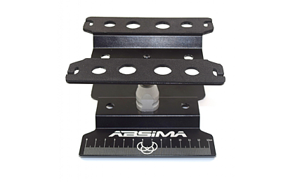 3000049 Absima Aluminium 1/10 and 1/8 Black Car Stand