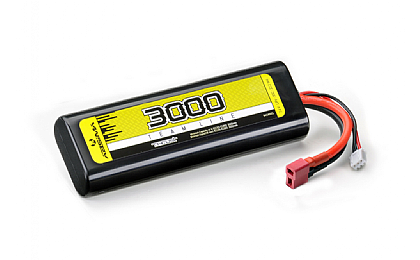 4140001 Absima 7.4v 3000mAh 30C Li-Po Battery Pack