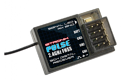 ET1153 Etronix Pulse 3 Channel 2.4GHz FHSS Receiver