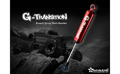 GM20701 Gmade G-Transition Shock Red 90mm for 1/8 Crawler & Truck x4