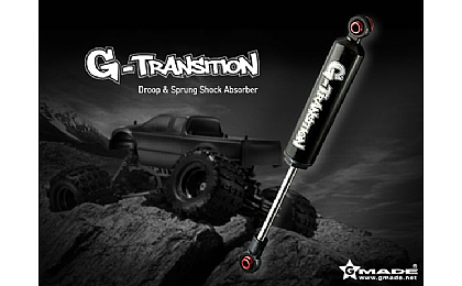 GM20704 Gmade G-Transition Shock Black 90mm for 1/8 Crawler & Truck x4