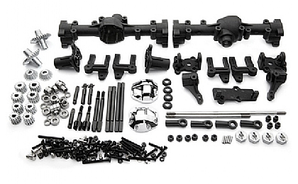 GM51100 Gmade R1 Front and Rear Portal Axle Set