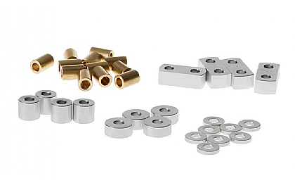 GM52135S Gmade Metal Spacers for GS01 Leaf Spring Kit