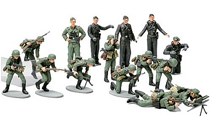 32512 Tamiya WWII German Infantry Set