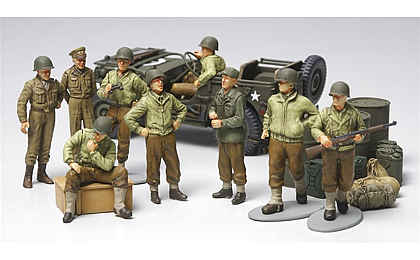 32552 Tamiya WWII US Infantry At Rest
