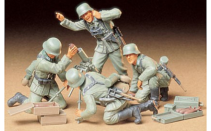 35193 Tamiya German Infantry Mortar Team