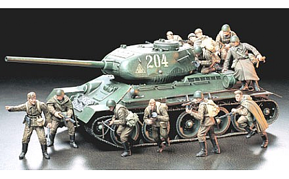 35207 Tamiya Russian Army Assault Infantry