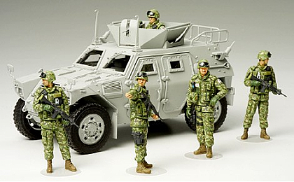 35276 Tamiya JGSDF Iraq Humanitarian Assistance Team