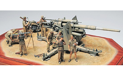 35283 Tamiya German 88mm Gun Flak 36 - North African Campaign