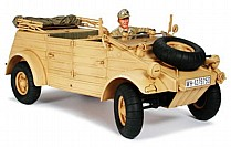 36202 Tamiya Kubelwagen Type 82 with Rommel