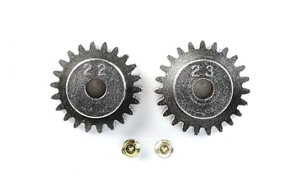 50357 Tamiya 22T/23T AV Pinion Gear Set