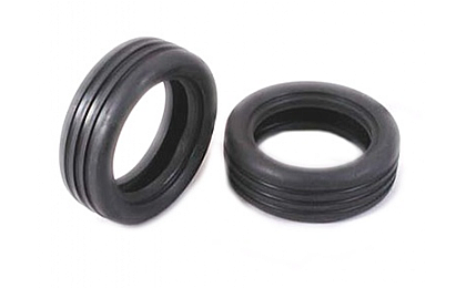 51207 Tamiya 2WD Off Road Wide Grooved Front Tyre x2