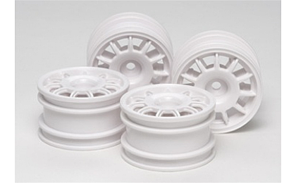 51394 Tamiya 11 Spoke Racing Wheels x4