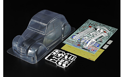 51617 Tamiya Citroen 2CV Rally Body Set