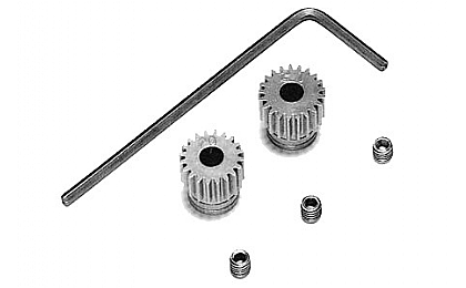 53101 Tamiya 20T/21T 0.4 Pinion Gear Set