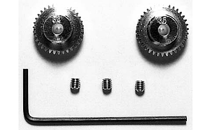 53405 Tamiya 34T/35T 0.4 Pinion Gear Set