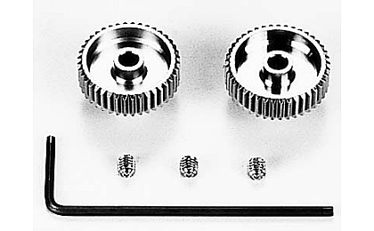 53420 Tamiya 40T/41T 0.4 Pinion Gear Set