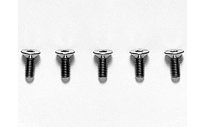 53534 Tamiya 3x8mm Titanium CS Hex Screw x5