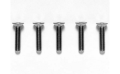 53537 Tamiya 3x14mm Titanium CS Hex Screw x5