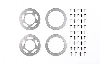 54086 Tamiya CR-01 Aluminium Beadlock Ring (2 sets)