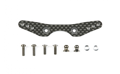 54300 Tamiya M06 Carbon Damper Stay - Rear