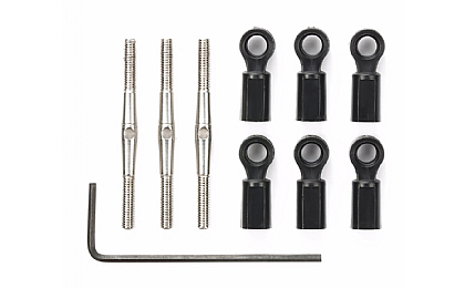 54818  Tamiya Turnbuckle Steering Set - G6-01/GF-01