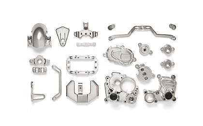 54821 Tamiya T3-01 A Parts (Gearbox) Semi-gloss Plated