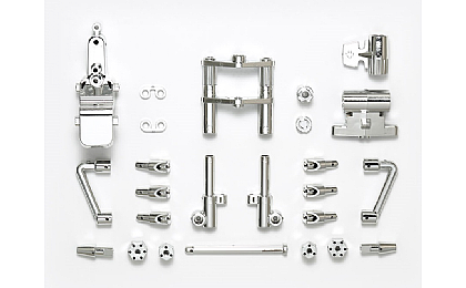 54829 Tamiya T3-01 B Parts (Front Fork) Plated