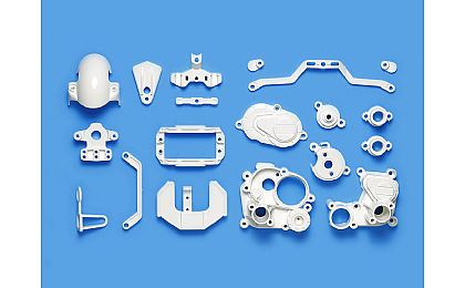 54915 Tamiya T3-01 A Parts (Gearbox) White