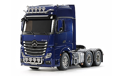 56354 Tamiya Mercedes-Benz Actros 3363 6x4 GigaSpace Pearl Blue Edition