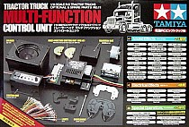 56511 Tamiya Tractor Truck Multi Function Unit MFC-01